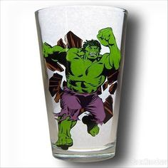 Images of Hulk Bursting Pint Glass
