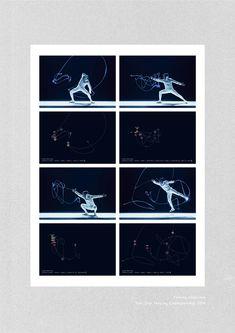 Visualized Fencing. - UENISHI YURI WORKS