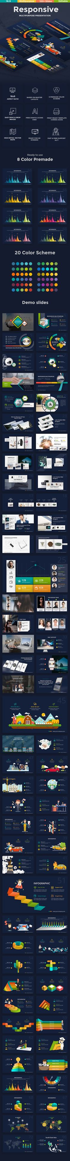 3 in 1 Creative Bundle Gooogle Slide Template — PPTX #company #yearly plan • Available here ➝ https://graphicriver.net/item/3-in-1-creative-bundle-gooogle-slide-template/20952621?ref=pxcr