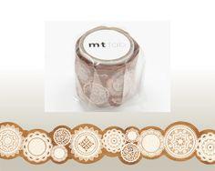 Washi Tape Die Cut Lace MTKT1P03 MT Masking Tape by WashiWednesday