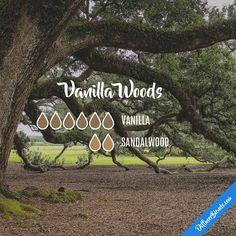 Vanilla Woods — Essential Oil Diffuser Blend