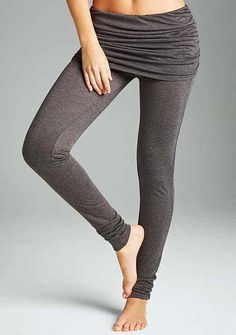 Foldover Skinny Yoga Pant -  34.90 Pilates Clothes, Boho Pants, Yoga  Accessories, Yoga e465cbd47d25