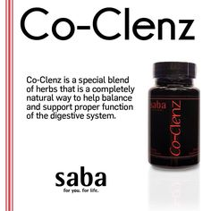 Co-Clenz™ contains a special blend of herbs that provide a natural way to help balance and support proper function of the digestive system. Proper waste elimination is necessary for good health and proper absorption of vital nutrients. A sluggish bowel can retain several pounds of poisonous fecal matter. Sometimes, the real cause behind illness can be the retention and re-absorption of this toxic waste. Co-Clenz™ can help establish regularity and help prevent the build up of these toxins.