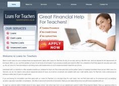 Loans For Teachers