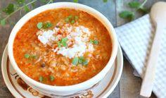 Zupa gołąbkowa : Zupa gołąbkowa Thermomix Składniki Zupa Gołąbkowa: 150 g mięsa mielonego wieprzowego 100 g mięsa mielonego wołowego 1 cebula 2 łyżki oleju 1/4główki włosk. Przepis na Zupa gołąbkowa