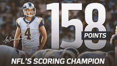 "LA Rams 2017: NFL top scoring champion 158 points Greg Zuerlein (4) ""The Leg"" (twitter.image) 01.18"