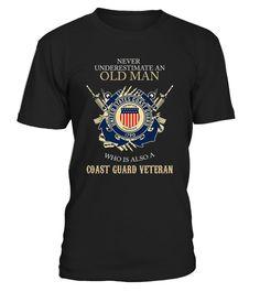 U.S Coast Guard Veteran T-Shirt