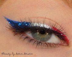 #EyeMakeupBlue Makeup Eye Looks, Eye Makeup Art, Cute Makeup, Pretty Makeup, Skin Makeup, Eyeshadow Makeup, Makeup Kit, Creative Eye Makeup, Colorful Eye Makeup