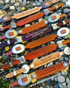Magics Custom Tack Inspirational and funny quote wither straps Www.magicscustomtack.com Horse rider barrel racer Christmas gift idea