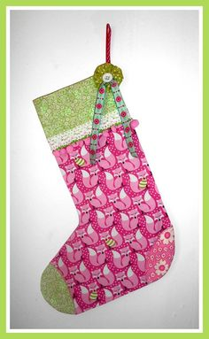 Button Fayre Christmas stocking