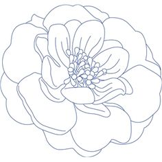 Welcome to the Silhouette Design Store, your source for craft machine cut files, fonts, SVGs, and other digital content for use with the Silhouette CAMEO® and other electronic cutting machines. Flower Line Drawings, Art Drawings, Coloring Books, Coloring Pages, Leaf Drawing, Sketch Design, Silhouette Design, Fabric Painting, Flower Art
