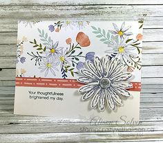 Just in Case Daisy Delight Photopolymer Stamp Set www.stampcrazywithalison.ca