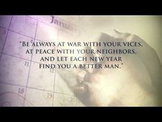 New Year's quotes -video
