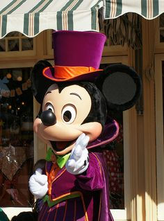 Mickey at Disneyland - Halloween 2011