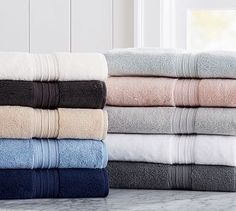 Hydrocotton Quick-Drying Towels #potterybarn