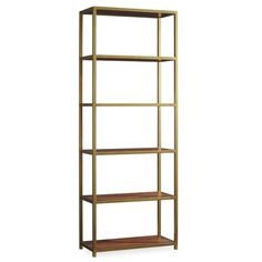 "Hooker Furniture Studio 7H 80"" Etagere Bookcase 80x30x14 $949"