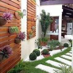 Imágenes de jardines pequeños. Ideas para patios pequeños. Consejos para decorar patios pequeños. Tips para la decoración de jardines. - #decoracion #homedecor #muebles