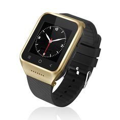 ZGPAX@ S8 Android 4.4 Dual Core Smart Watch Phone Wrist Wrap Watch Phone, Multi-point Touch Screen,3G WCDMA,Bluetooth 4.0,Bulit-in GPS,2MP Camera (Gold). Capacitive touch screen, 1.33'' 360*360 resolution. Support 2G GSM quad-band 850/900/1800/1900MHz 3G WCDMA 850/2100MHz. HD front camera,5.0 mega-pixel (2.0 physical mega-pixel). Pedometer, heart rate, health management. Support Android apps, GPS navigatation.