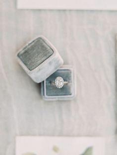Dreamy Botanical California Wedding Inspiration - MODwedding Engagement Ring