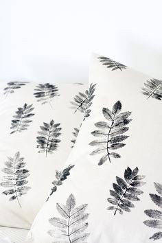 ~ DIY printed pillow