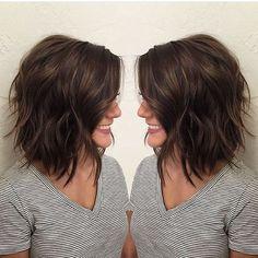 Cute Medium Length Layered Bob Hairstyles