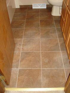 floor design stunning small bathroom decoration using square light brown ceramic tile flooring including