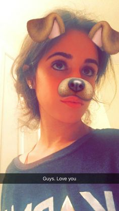 "Just imagine Camila's your actual dog (to those who have one) ""AWWWWWW, I LOVE YOU TOO!"""