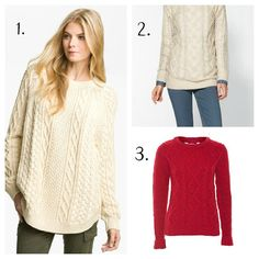 Fisherman Sweater via Exclusively Chic