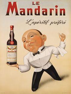 Le Mandarin L'Apéritif Préféré, 1932