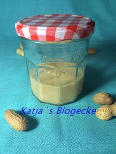 Katja's Blogecke: Vegane Erdnussbutter