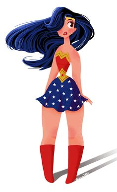 Wonder Woman by Vivian du Bois