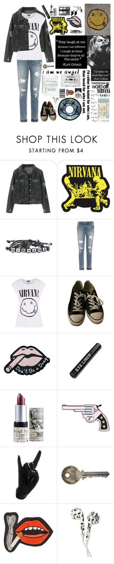 """""""Let's Live Like We Won't Remember"""" by choice-to-be ❤ liked on Polyvore featuring Joe's Jeans, Converse, TheBalm, Nude by Nature, Thelermont Hupton, MANGO, Olympia Le-Tan and Full Tilt"""