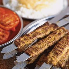 Persian Ground Meat and Onion Kebabs (Kebab Kubideh or Chelo Kabob)  Recipe…