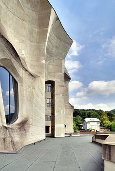 2nd Goetheanum - Detail