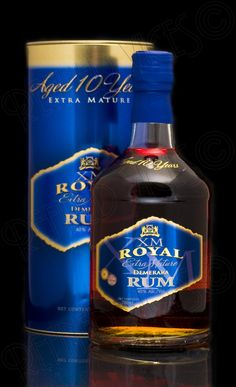 XM Royal Rum, Guyana. XM Royal is a brilliant aged Golden Demerara rum from Guyana, bottled by Banks DIH. This is a superbly complex and hugely enjoyable sipping rum.