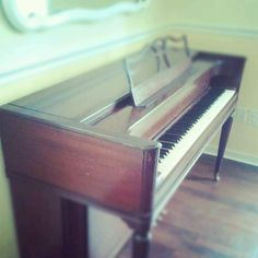 This Is A Baldwin Acrosonic Upright Piano I Scored At Salvation Army For  $55.13.