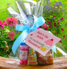 cute & quick birthday gifts..would be fun for a little daily gift leading up to the BIG day!
