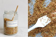 Gepofte zoete boekweit Granola, Cereal, Breakfast, Health, Recipes, Skinny, Morning Coffee, Health Care, Recipies
