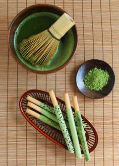 Homemade Matcha Pocky | Thirsty For Tea
