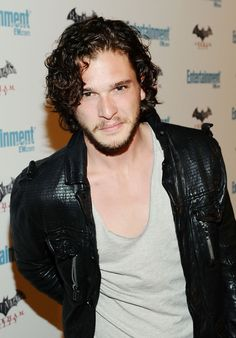 Kit Harington - congratulations! You closed your mouth!