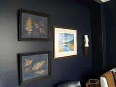 Raplph Lauren Urban Loft. 10 Rooms: Slinky Inky Blue Walls..The Quiet Room