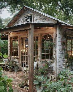 Love the little front porch