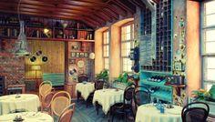 In Old Odessa by Artem Trigubchak, via Behance