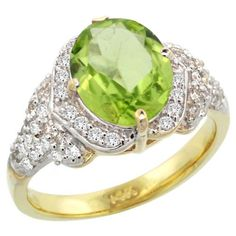 14k Yellow Gold Natural Peridot Ring Diamond Halo Oval 10x8mm, 1/2 inch wide, size 7.5by Gabriella Gold - See more at: http://blackdiamondgemstone.com/colored-diamonds/jewelry/rings/bands/14k-yellow-gold-natural-peridot-ring-diamond-halo-oval-10x8mm-12-inch-wide-size-75-com/#sthash.029qY1DO.dpuf