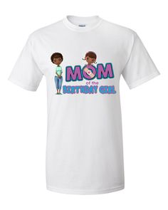 Doc McStuffins Birthday Girl Mom Personalized by cutetees4me