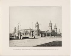 Souvenir book of the Louisiana Purchase Exposition - Page [7]: Palace of Machinery [photographic illustration]