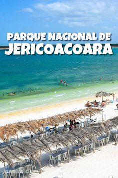 Parque Nacional de Jericoacoara, confira as dicas e roteiro de viagem para conhecer esse paraíso no Brasil #Jericoacoara #Viagem #Brasil