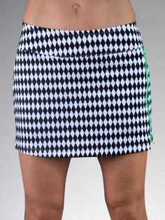 7809d3d549a Melon Ball (Harlequin) JoFit Ladies   Plus Size Zippy Pull-On Tennis Skort  available at. Lori s Golf Shoppe