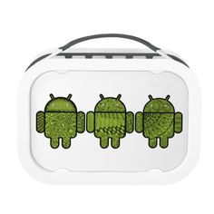 """These Android robots are part of a set of special hand-drawn """"doodles"""" I created to be used as a decorative skin or stylish and fashionable outfit for the normally-bare bot. The cute bright green robot characters each have a name. The familiar pudgy robotic shape is filled with shaded stylized decorative lines, swirls, checks, dots, stripes, and other repeated elements and patterns. Watch for more designs with other Doodles for Android friends coming soon or feel free to contact me for ..."""