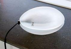 Frost lampa - kristall - Gunvor Larsson